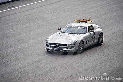 Formula One Safety Car Editorial Stock Image
