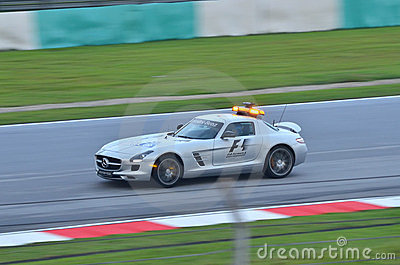 Formula One Safety Car Editorial Image