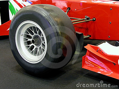 Formula one tyre