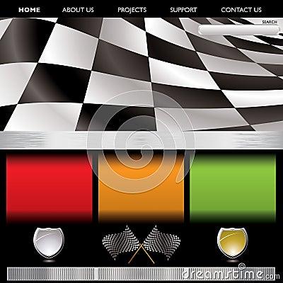 Free Formula Racing Web Royalty Free Stock Photos - 11433908