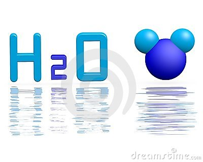 Formula of water
