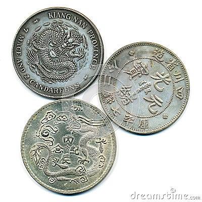 Forntida kinesisk silver