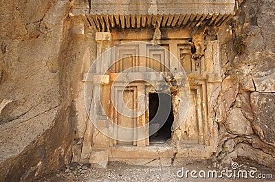 Forntida tomb
