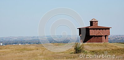 North Dakota state Fort Abraham Lincoln
