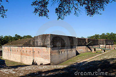 Fort Advanced Redoubt Royalty Free Stock Images - Image: 22642929