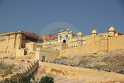 Fort of Amber, Rajasthan