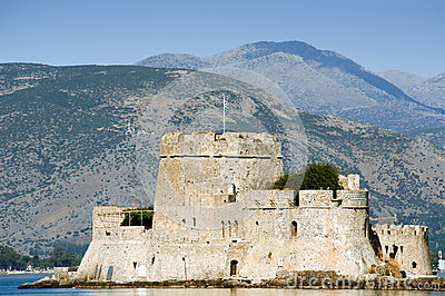 Fort Bourtzi in the city of Nafplio