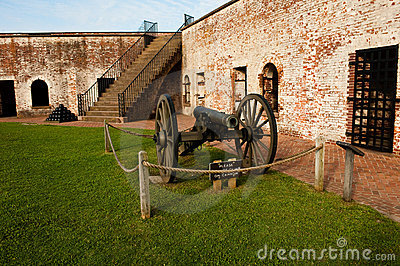 Fort and canon