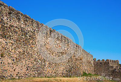 Fort Castillo walls