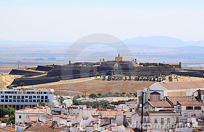 Fort de Santa Luzia near Elvas, Portugal
