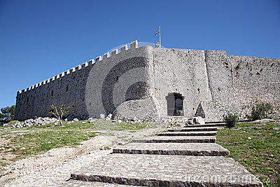 Fort in greece