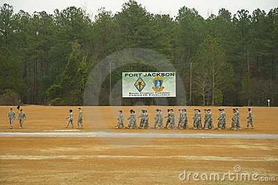 Fort Jackson Graduation Editorial Photography Image 7520512