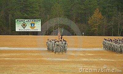 Fort Jackson Parade Editorial Photography