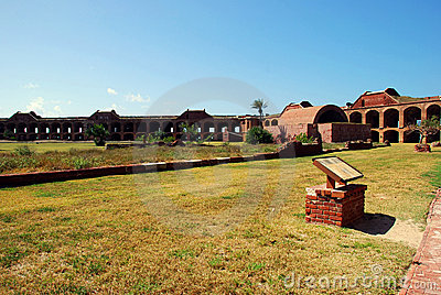 Fort Jefferson Main Courtyard