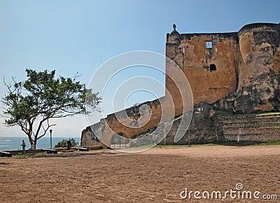 Fort Jesus - Mombasa Editorial Photo
