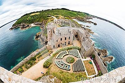 Fort la Latte castle Editorial Photography