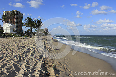 Fort Lauderdale Beach South of Sunrise Editorial Photography