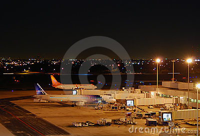 Fort Lauderdale Hollywood International Airport Editorial Stock Photo