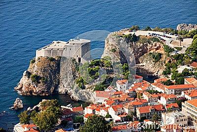 Fort Lourijenac in Dubrovnik