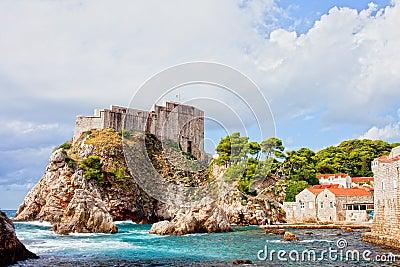 Fort Lovrijenac in Dubrovnik