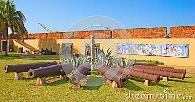 Fort in Maputo, Mosambik