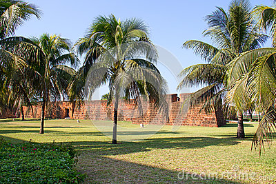 Fort in Maputo, Mosambik