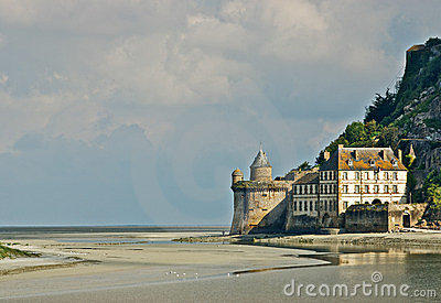 Fort at Mont St. Michel