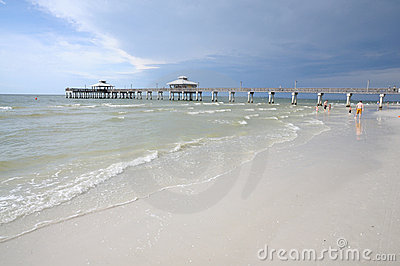 Fort Myers Beach, Florida Editorial Stock Image
