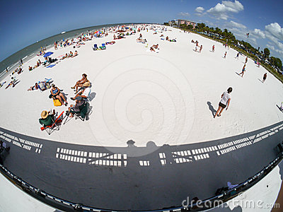 Fort Myers Beach, Florida Editorial Image