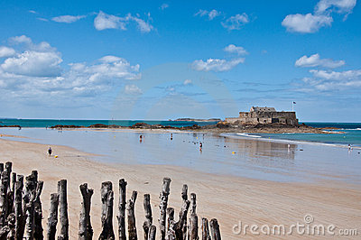 Fort National at Saint Malo