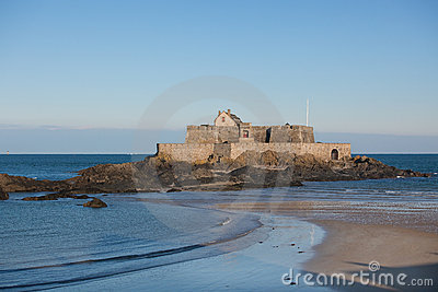 Fort National in Saint Malo (France)