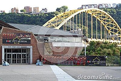 Fort Pitt Museum Editorial Photography