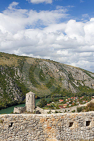 Fort in Pocitelj, Bosnia and Herzegovina