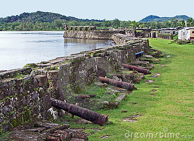 Fort Of Portobelo Royalty Free Stock Photo - Image: 2536845