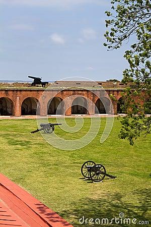 Fort Pulaski Canons