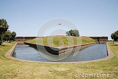 Fort Pulaski Moat