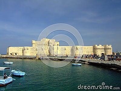 Fort Qaitbey in Alexandria