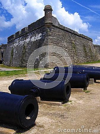 Fort, San de Marco, St. Augustine, Florida, US