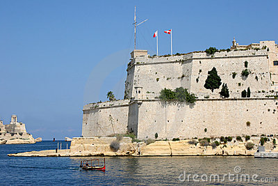 Fort St. Angelo, Grand harbour, Malta