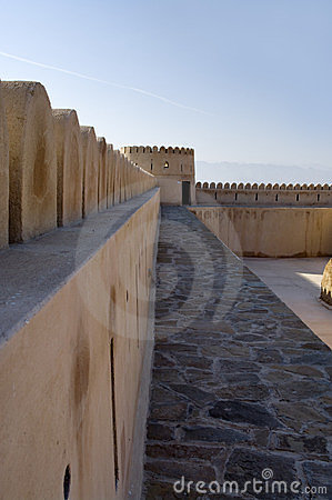Fort of Sur, Oman.