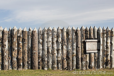 Fort wall
