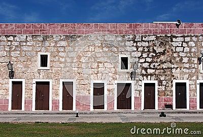 Fort Wall In Havana Cuba
