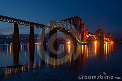 Forth Bridge at Edinburgh