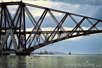 The Forth Bridge, South Queensferry