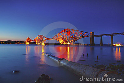 The Forth Rail Bridge , Scotland