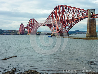 The Forth Railway Bridge, Scotland