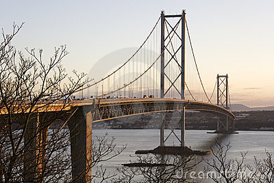 Forth Road Bridge - Edinburgh - Scotland