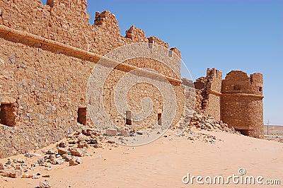 Fortifications, Sahara Desert, Libya