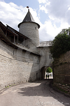 Fortifications and viewing tower