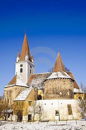 Fortified church in transylvania